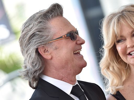 Goldie Hawn introduces her and Kurt Russell's newest family member — a puppy