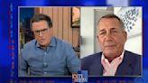 Stephen Colbert Confronts John Boehner's Bothsidism