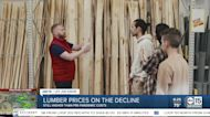 Lumber prices on the decline
