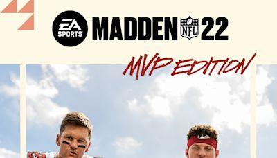 Tom Brady, Patrick Mahomes share iconic 'Madden NFL 22' cover