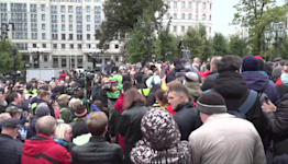 Russia's Communists lead protests over 'colossal' vote fraud
