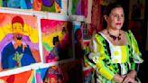 Artist Karla Diaz turns insomnia into dream-like paintings at Luis De Jesus