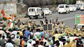 Abadi land dispute: Protesting farmers break barricades near Noida authority office