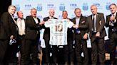 Los entretelones de la visita de Gianni Infantino a la Argentina