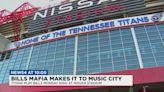 'Bills Mafia' descend on Nashville for Monday's game against Titans