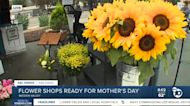 Flower shops ready for Mother's Day