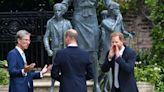 Prince William's nod to Prince Harry at Princess Diana statue reception