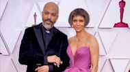 Halle Berry Makes Red Carpet Debut With Boyfriend Van Hunt at 2021 Oscars