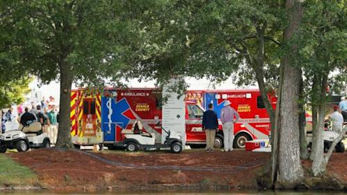 Tour Championship: Fans injured by lightning strike at PGA Tour finale