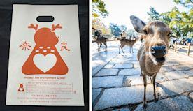 Man Creates Edible Plastic Bags to Protect the Sacred Deer of Nara, Japan