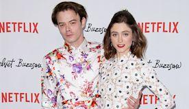 'Stranger Things' Star Charlie Heaton, 25, Snuggles GF & Co-Star Natalia Dyer On 25th B-Day — Pic