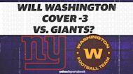 Betting: Will Washington cover -3 vs. Giants?