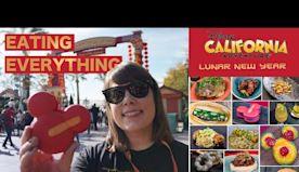 The BEST FOOD at Disney's Lunar New Year 2020 | Disney California Adventure