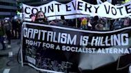 'Count every vote' protest spreads to Philadelphia