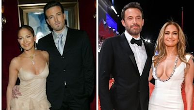 12 of the best couple looks Jennifer Lopez and Ben Affleck have worn over the years