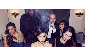 On 4/20, A Look Back at the Many, Many Times Rihanna Has Instagrammed Herself Smoking Weed
