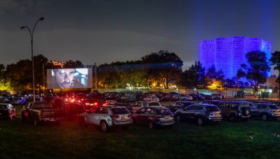 Oscar Campaigners Flock To Queens Drive-In As In-Person Screenings Resume Citywide Ahead Of Ballot Deadline