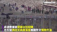 用難民報復?摩洛哥放數千難民偷渡西班牙 直擊邊境警衛揮手「快過來」