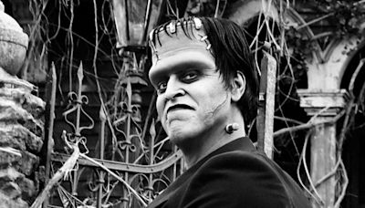 Here's your first look at the Munsters movie reboot stars and the newly built family home