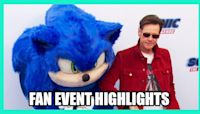 SONIC THE HEDGEHOG - Fan Event Highlights and Interviews