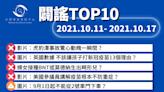 【2021/10/11-2021/10/17】闢謠TOP10