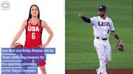 WEB EXTRA: Sue Bird And Eddy Alvarez Are Team USA's Flag Bearers For Olympic Opening Ceremony