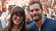Dakota Johnson & Jamie Dornan Are All Smiles In 'Fifty Shades' Reunion At Telluride Film Festival