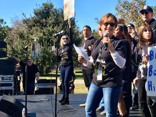 SAG-AFTRA Rally Against Ad Agency Bartle Bogle Hegarty Draws Nearly 1,000