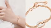 名牌精選入門級首飾推介:玫瑰金手鏈、頸鏈、手鐲 Cartier、Tiffany