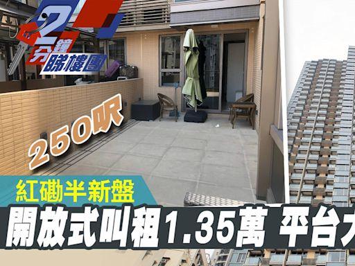 【2分鐘睇樓團】叫租1.35萬!紅磡半新樓205呎單位 連250呎平台 - 香港經濟日報 - 地產站 - 地產新聞 - 人物/專題