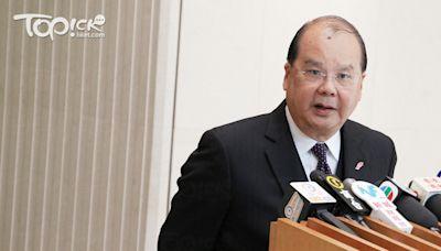 張建宗6月離開官場 與鄧炳強同獲委任為太平紳士 - 香港經濟日報 - TOPick - 新聞 - 政治