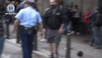 Protesters and Police Clash at Anti-Lockdown Demonstration in Sydney