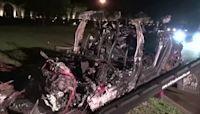 Tesla car crash kills two in Texas