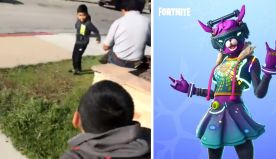 5-Year-Old Boy And His Friend Greet Each Other With Fortnite Dance And It's So Wholesome