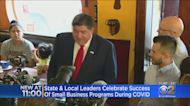 Governor, Mayor Surprise Staff At Thriving Little Village Restaurant After Help From Small Business Programs
