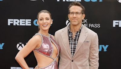 Blake Lively and Ryan Reynolds Make Their Stylish Return to the Red Carpet at Free Guy Premiere