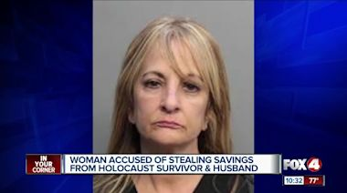 Woman steals from holocaust survivor in Florida