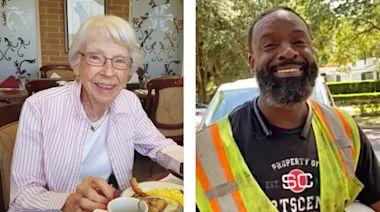 Utility Worker With Angelic Voice Serenades Elderly Woman | Music Heals | Digital Exclusive