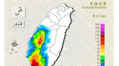 中南部有大雨豪雨 北部東部慎防高溫
