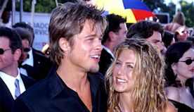 Stop and Admire Jennifer Aniston and Brad Pitt's Unforgettable Date Nights at the Emmys - E! Online