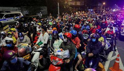 胡志明市宣布解封 200萬越南工人拒絕返崗衝擊大企業
