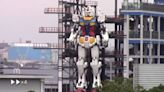 Japanese Company Reveals Life-Sized Gundam Anime Robot — Standing 59 Feet Tall!