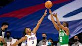 Embiid scores 42, leads 76ers past Celtics 117-109
