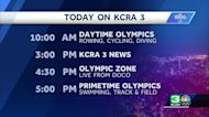 Olympics Day 8: What's on KCRA 3