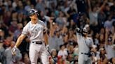 Yankees slam Red Sox to move into tie for first AL wild card