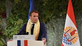 Macron: France owes 'debt' to Polynesians over nuclear tests