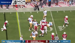 Highlights: Dorian Thompson-Robinson combines for four touchdowns as No. 24 UCLA football opens Pac-12 play with 35-24 victory over Stanford