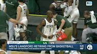 Michigan State's Joshua Langford retires from basketball