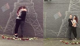 This Guy Recreated the Eiffel Tower to Propose to His Girlfriend 'in Paris' During the Quarantine
