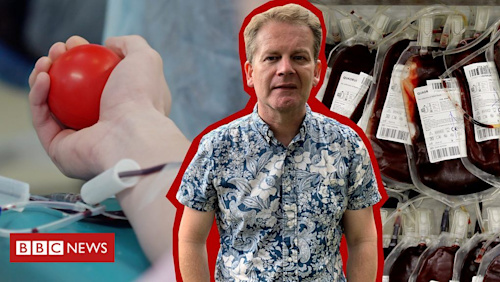 'I've waited 35 years to give blood as a gay man'